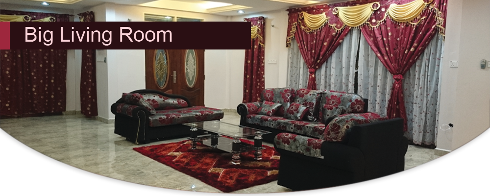Adelia Homestay – Big Living Room
