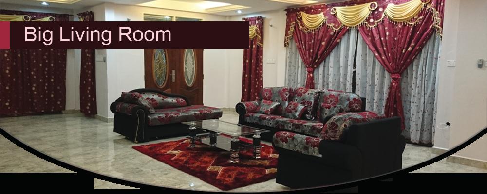 Adelia Homestay – Big Living Room